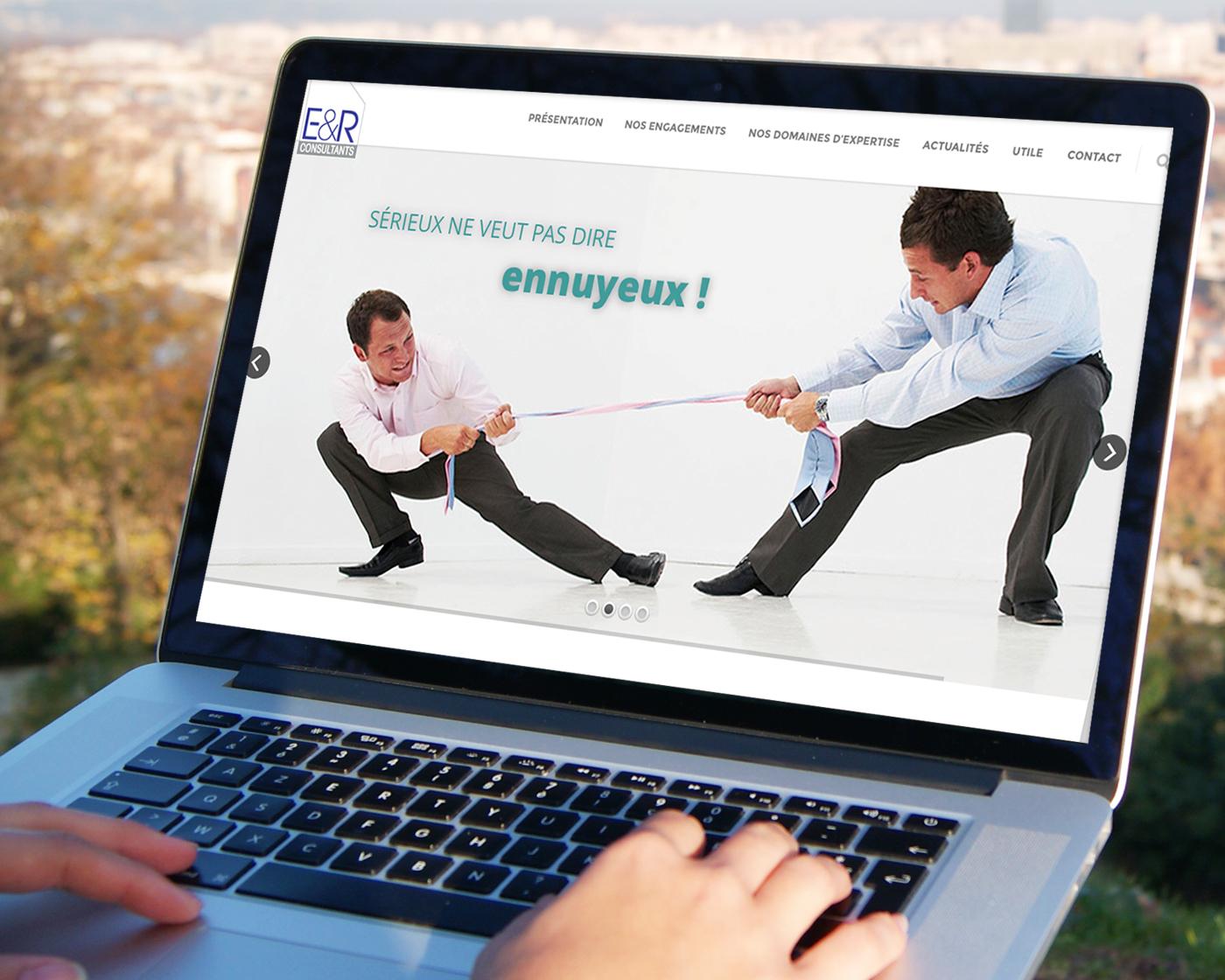 ER Consultants - visibilité et cohérence sur tous les supports