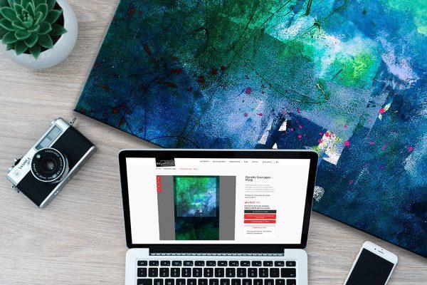 Un site de vente en ligne sur mesure