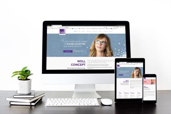 Noll concept – nouveau site internet