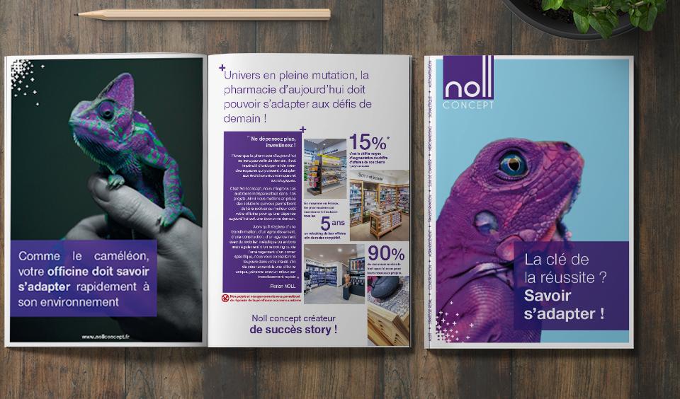 Noll Concept – concepteur, créateur de pharmacies