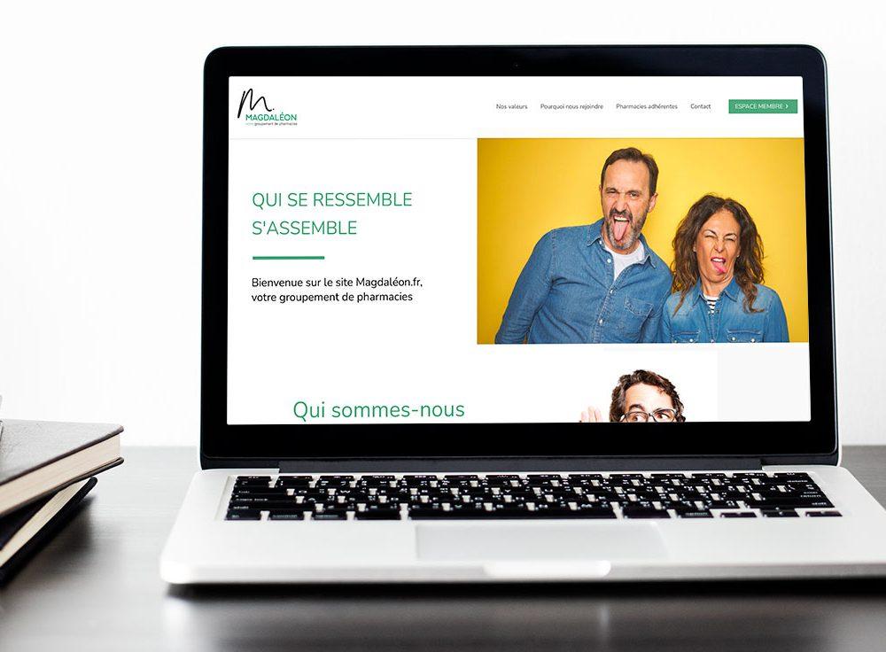 Magdaléon – site internet avec espace membre