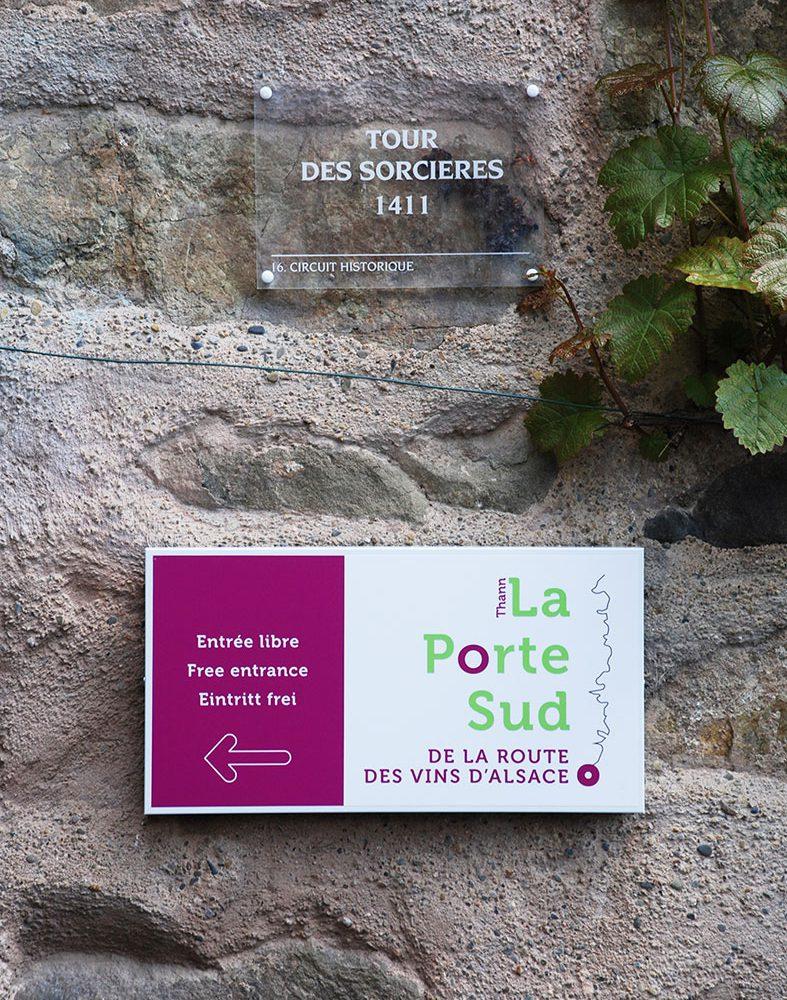 Le musée de la Porte Sud de la route des vins d'Alsace – Muséeographie