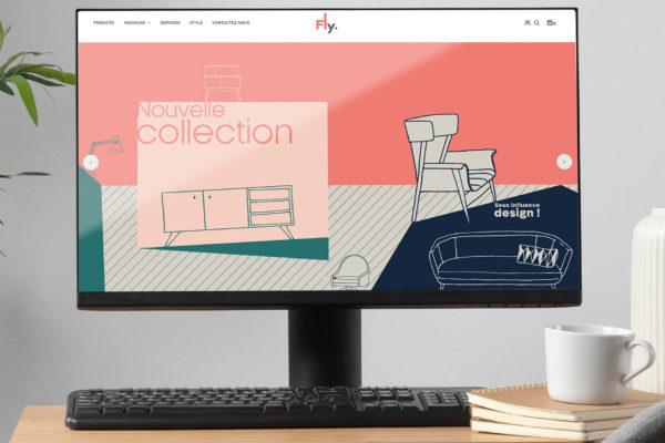 Fly.fr – site internet & e-shop